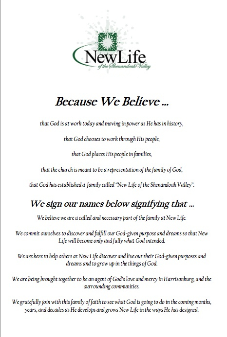 New Life Covenant