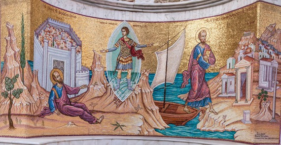This mosaic mean a lot for us to share the Gospel and pray for new revival in Europe